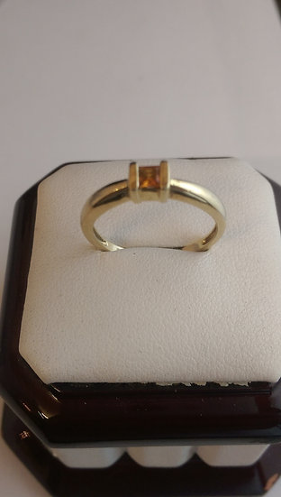 Second Hand 9ct Gold Citrine Ring