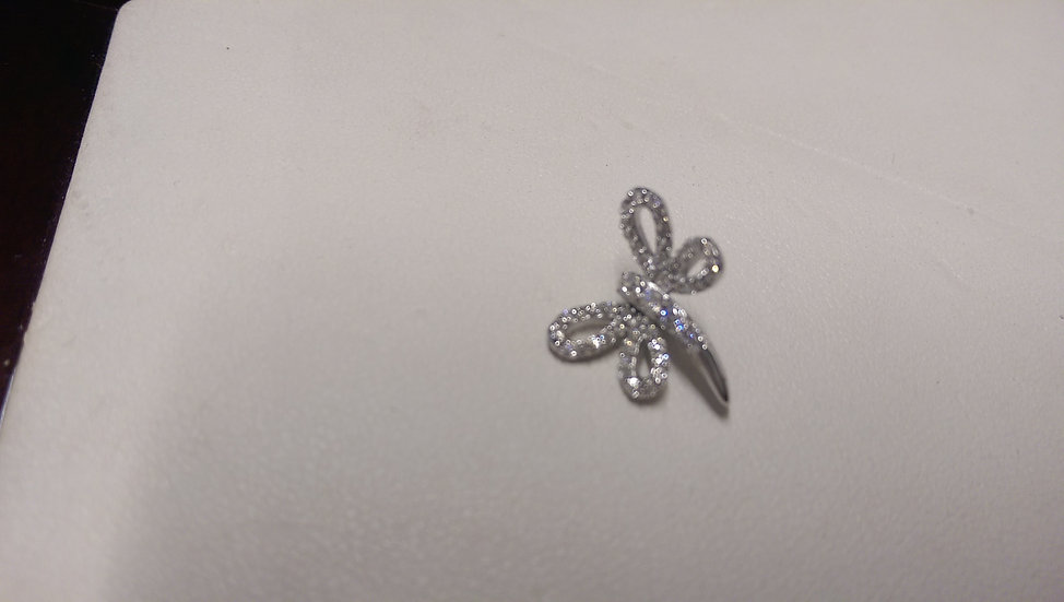 925 Sterling Silver Butterfly Pendant
