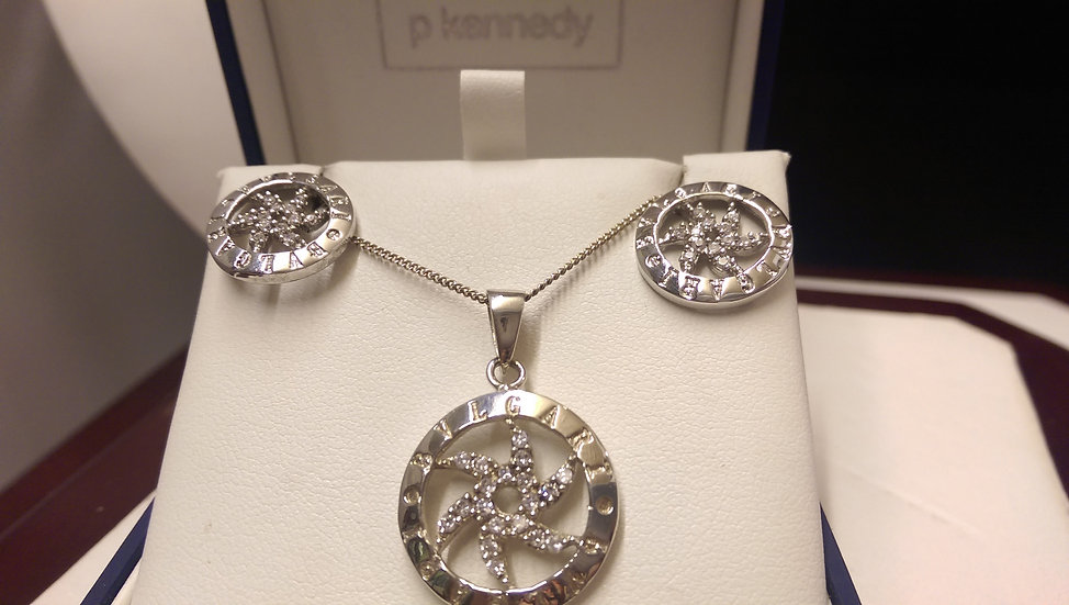 Second Hand 925 Sterling Silver Bvlgari Set