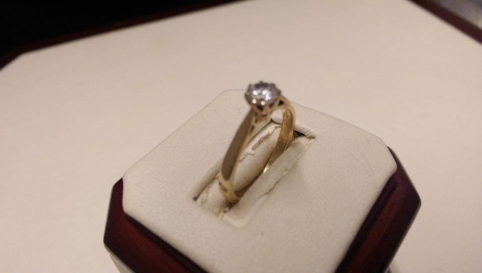 Second Hand 9ct Gold 0.25ct Diamond Ring