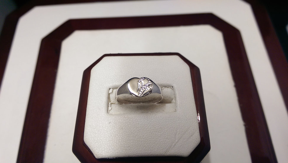925 Sterling Silver Signet Ring