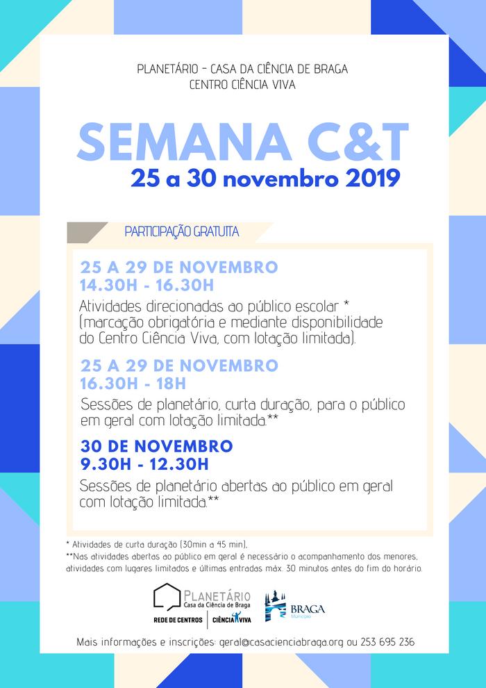 Semana Ciência e Tecnologia 2019