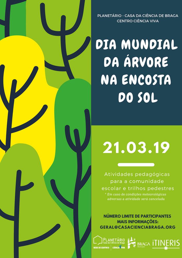 Dia da Mundial da Árvore na Encosta do Sol