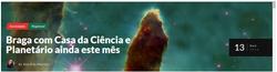 Braga com Casa da Ciência e Planetário ainda este mês