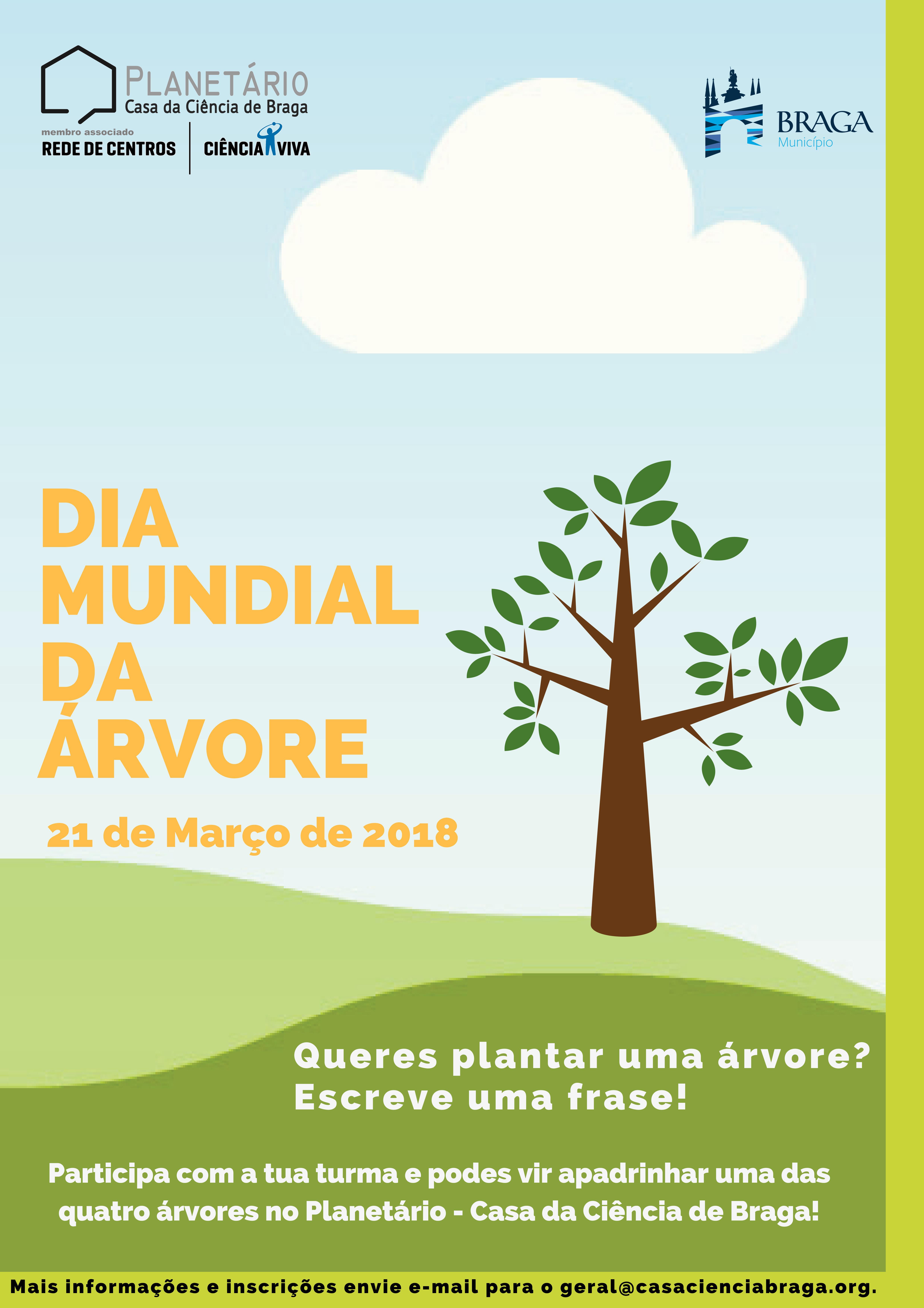 Dia Mundial Da árvore Casacienciabraga