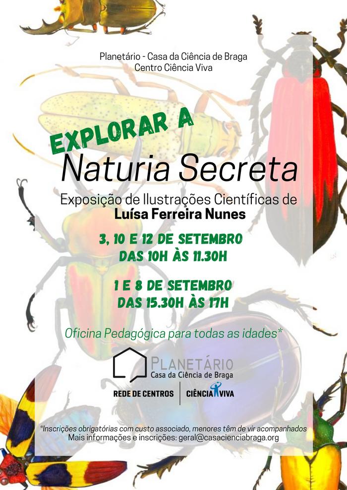 """Oficina Pedagógica """"Explorar a Naturia Secreta"""""""