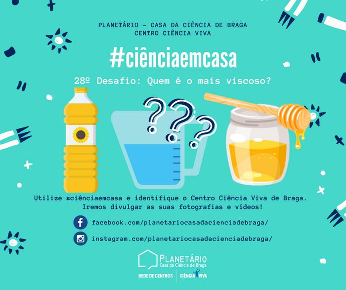 #ciênciaemcasa: 28º desafio