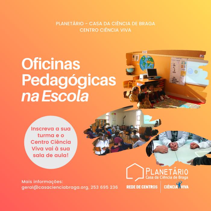 Oficinas Pedagógicas na Escola