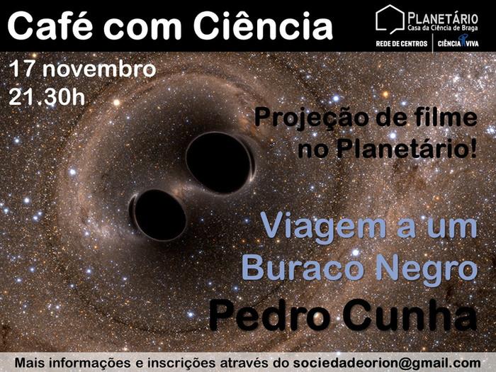 Café com Ciência: Viagem a um Buraco Negro