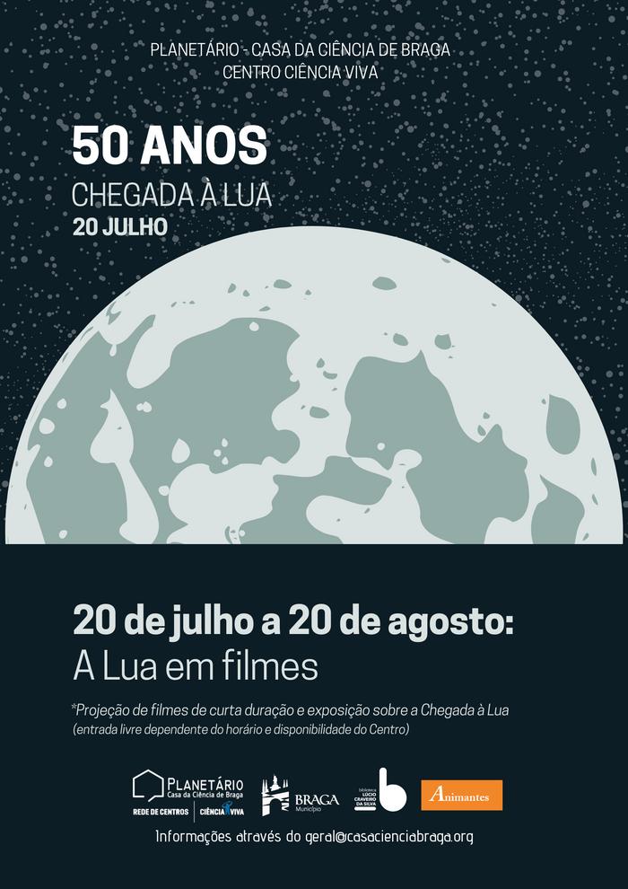 A Lua em filmes - Exposição até 20 de agosto