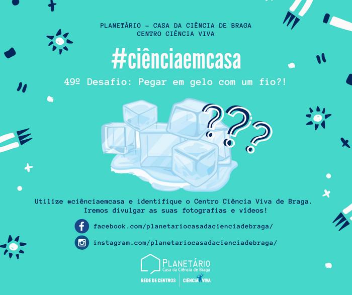 #ciênciaemcasa: 49º desafio