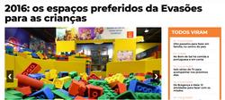 2016: os espaços preferidos da Evasões para as crianças