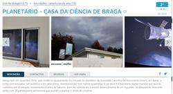 PLANETÁRIO - CASA DA CIÊNCIA DE BRAGA no lifecooler