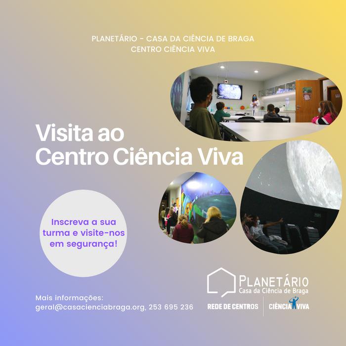 O Centro Ciência Viva de Braga vai à Escola! Marque já a sua visita!