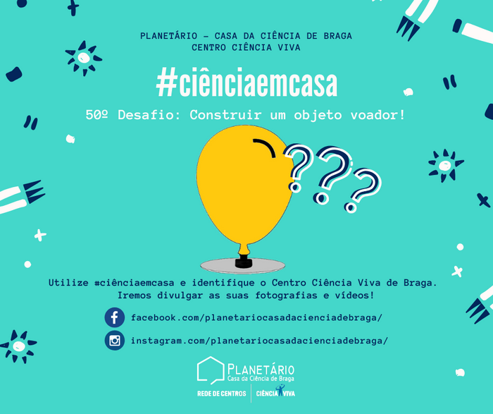 #ciênciaemcasa: 50º desafio