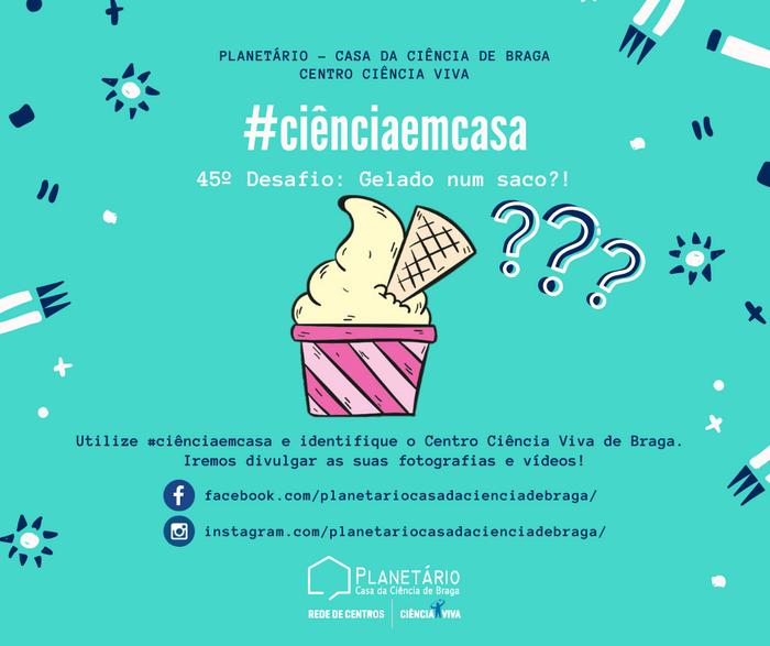 #ciênciaemcasa: 45º desafio