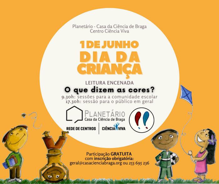 Dia da Criança no Centro Ciência Viva de Braga