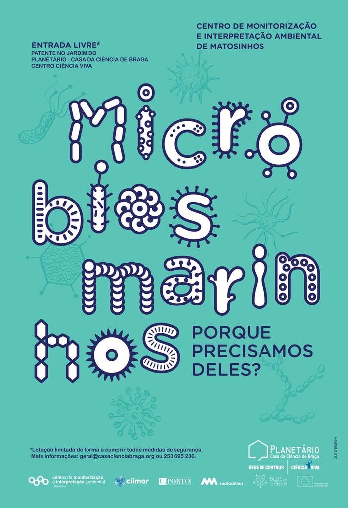 """Exposição """"Micróbios marinhos: porque precisamos deles?"""""""