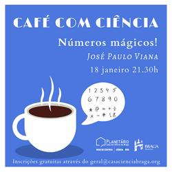 café ciência números