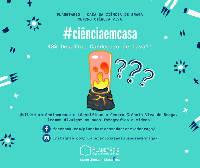 #ciênciaemcasa: 48º desafio
