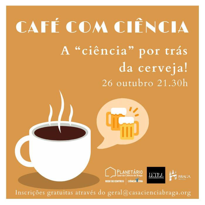 """Café com Ciência: A """"ciência"""" por trás da cerveja!"""