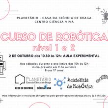 Curso de Robótica 2021/2022 (Nível 1 e 2)