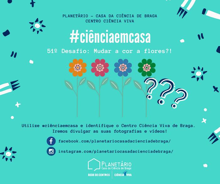 #ciênciaemcasa: 51º desafio
