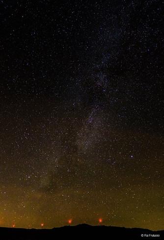 Observação Astronómica 31 março