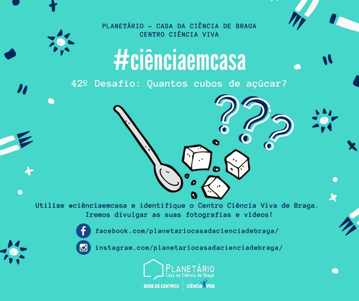 #ciênciaemcasa: 42º desafio