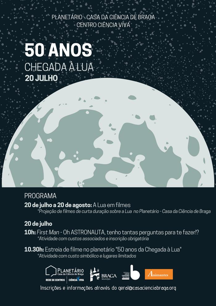 50 anos da Chegada à Lua