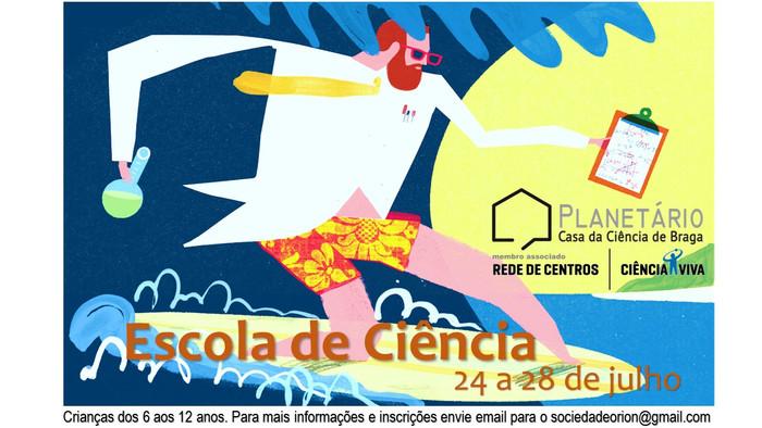 ESCOLA DE CIÊNCIA - 24 a 28 de julho