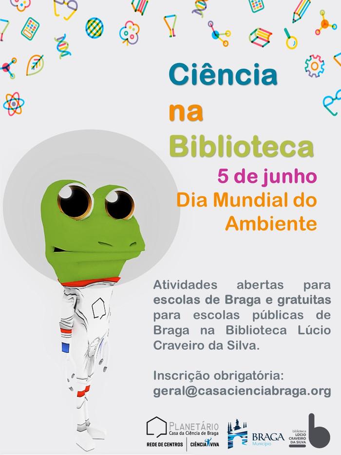 Ciência na Biblioteca 5 de junho