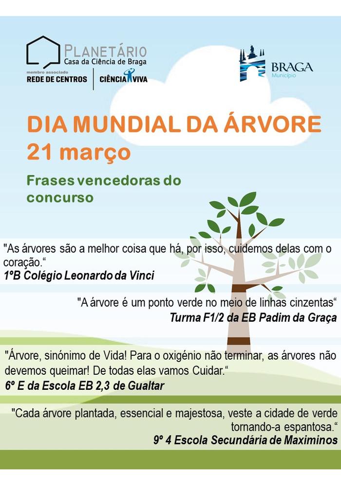 Vencedores Dia Mundial da Árvore - 21 de março