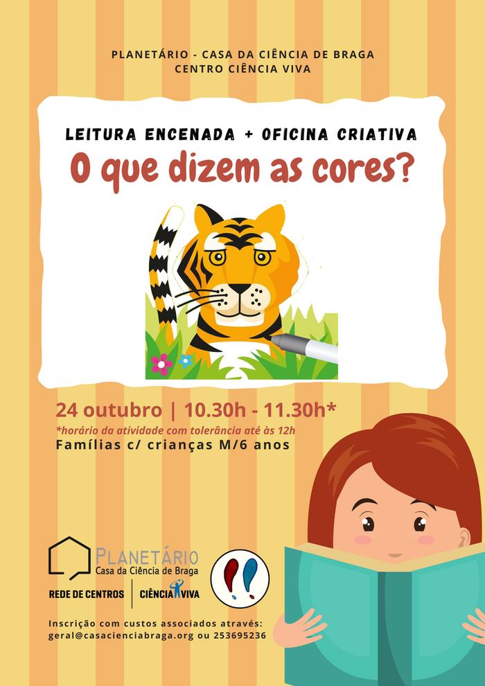 Leituras encenadas e oficinas criativas para famílias