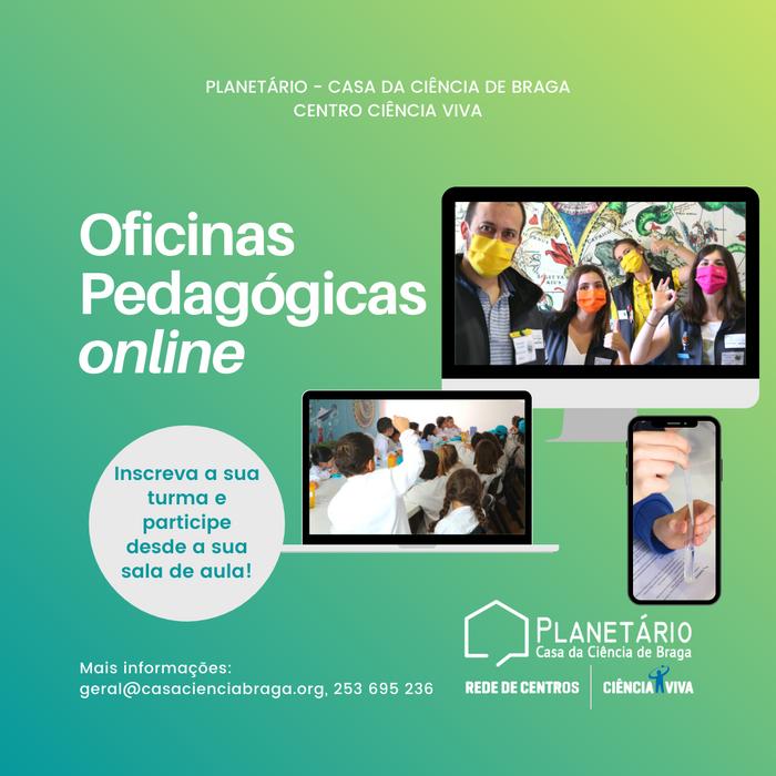 Oficinas Pedagógicas online