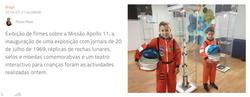 Planetário de Braga celebra meio século da chegada do Homem à Lua