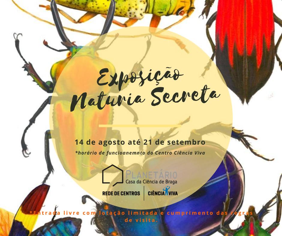 Exposição Naturia Secreta