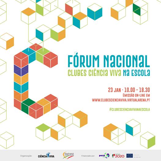 Fórum Nacional dos Clubes Ciência Viva: o futuro da ciência está nas mãos destes alunos
