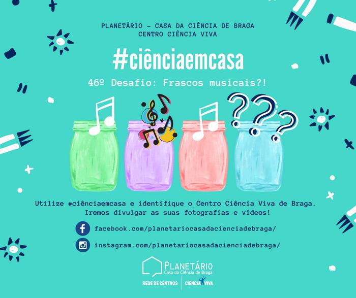#ciênciaemcasa: 46º desafio