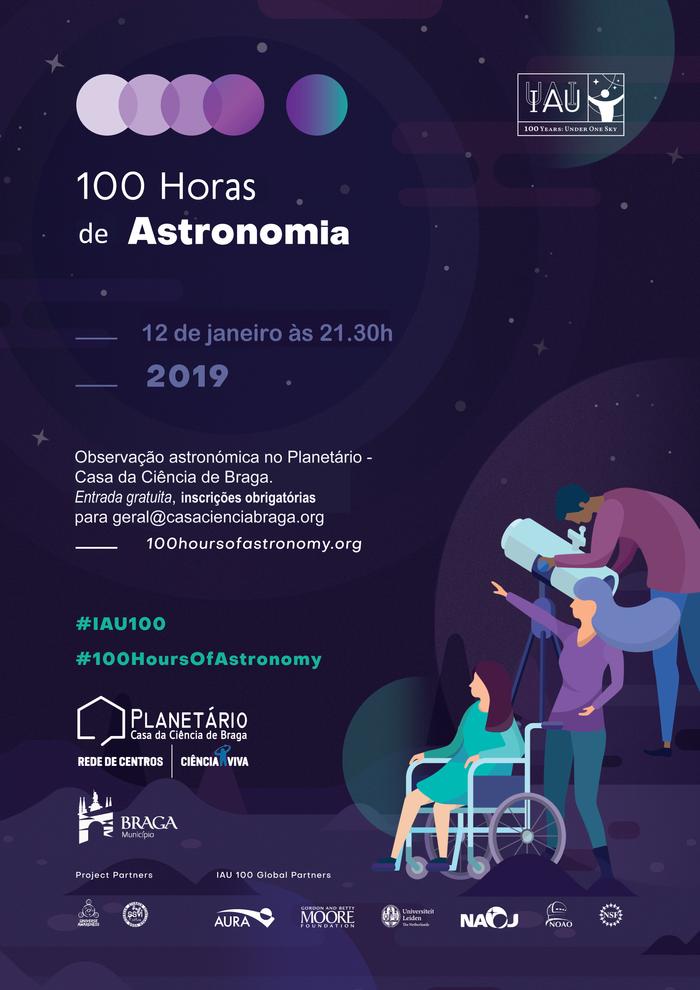 100 Horas de Astronomia
