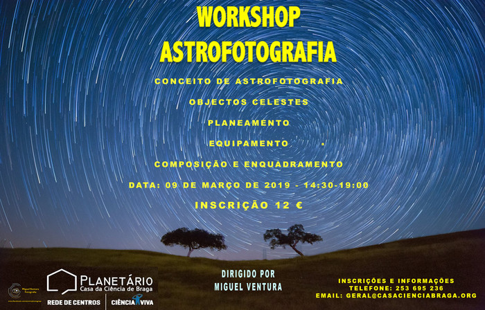 Workshop Astrofotografia