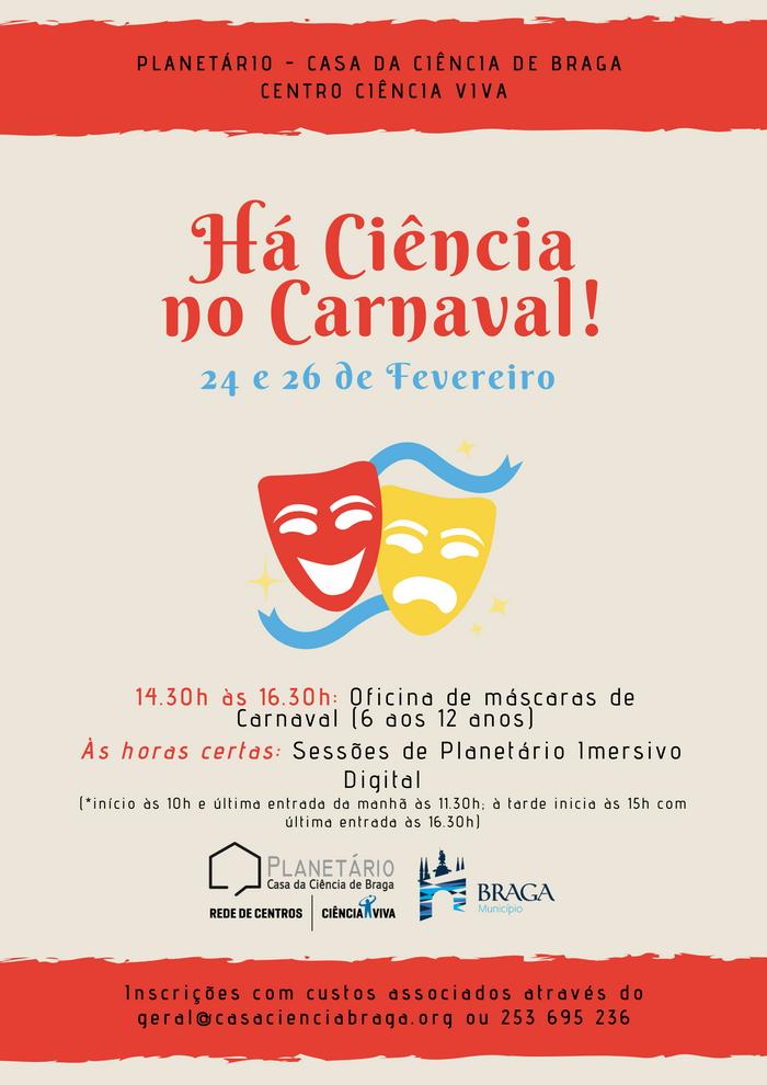 Há Ciência no Carnaval!