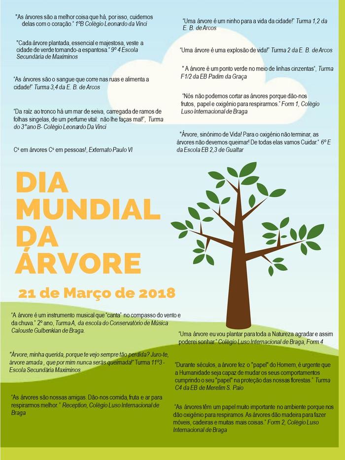 Dia Mundial da Árvore - 21 de março