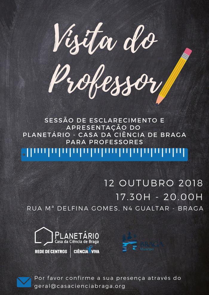Visita do Professor