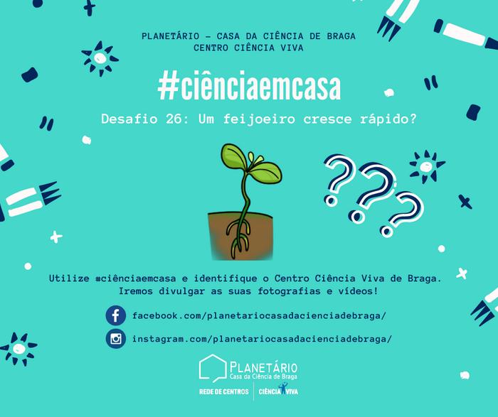 #ciênciaemcasa: 26º desafio