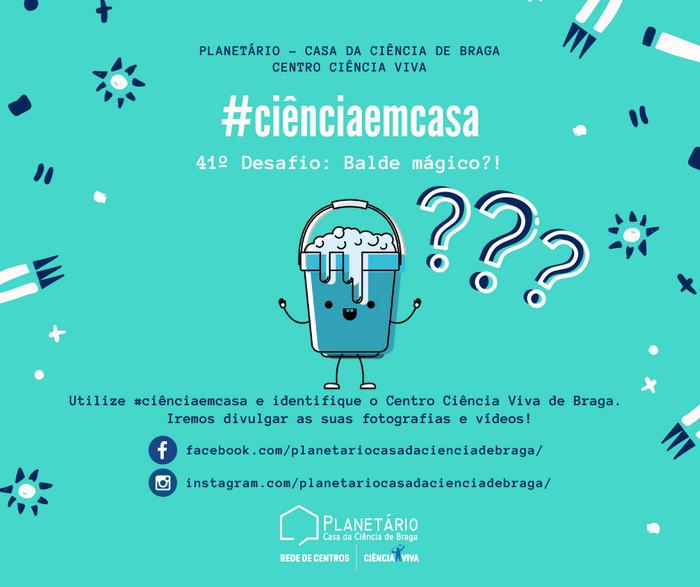 #ciênciaemcasa: 41º desafio
