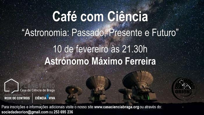 1º Café com Ciência