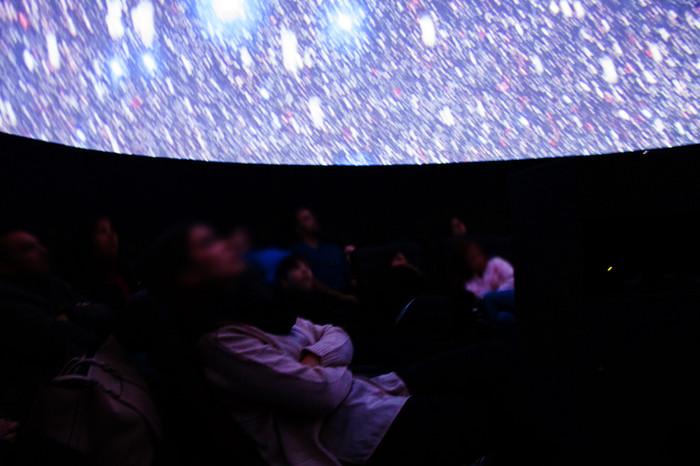 Sessões Planetário Imersivo Digital Especial Ano Novo