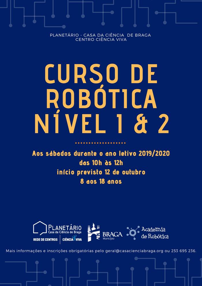 CURSO de ROBÓTICA 2019/2020 (Nível 1 e 2)