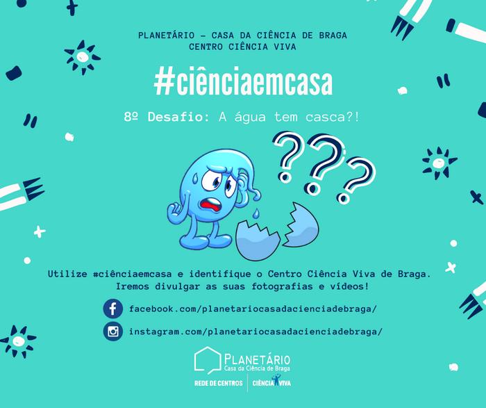 #ciênciaemcasa: 8º desafio